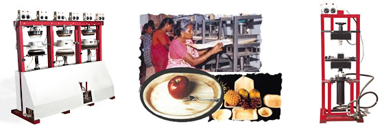 Areca leaf plate making machines